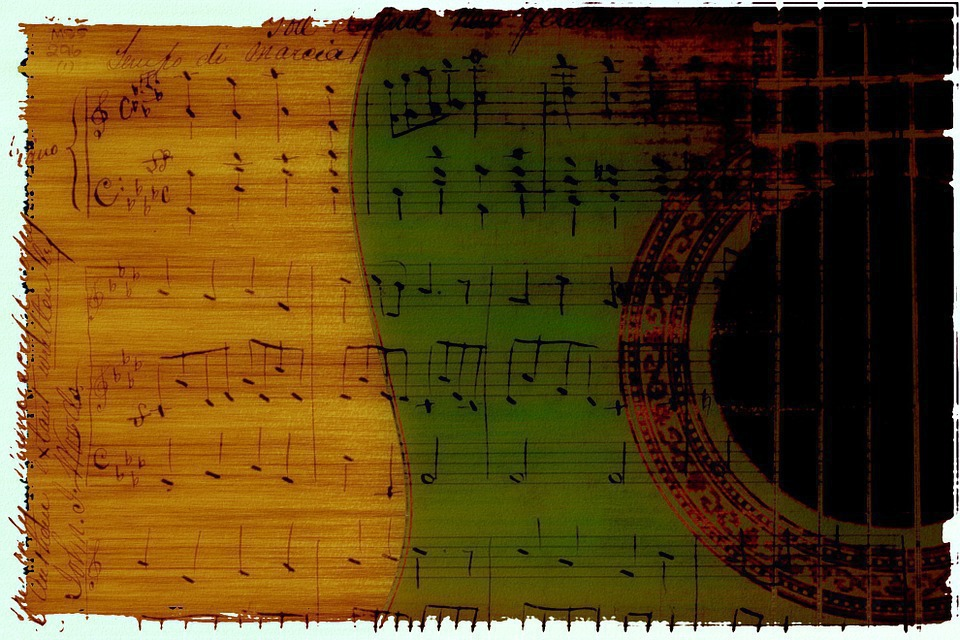 Gitarre; Noten