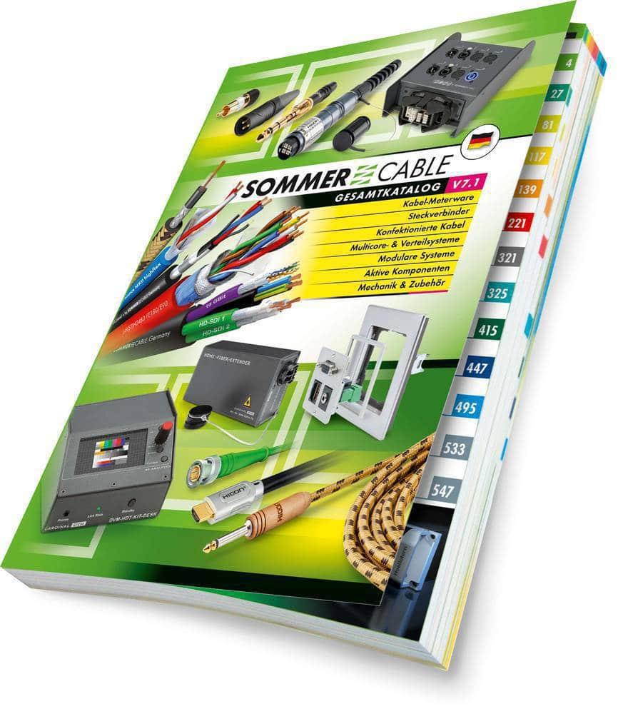 221745ff89e1c3 Der neue SommerCable-Katalog V7.1 ist da!