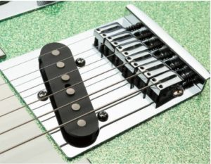 Moderne American Custom Tele Bridge