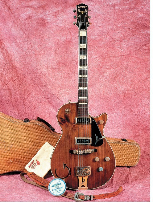 Gretschs erste Cowboy-Gitarre, die 6130. (Foto: Vintage Guitar)
