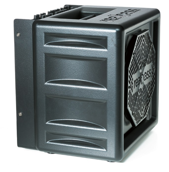 Durch die versteifende Formgebung wird der Klangeinfluss des CarbonGehäuses optimiert.