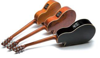 Die unterschiedlichen Hölzer für Zarge und Boden tragen viel zum Klangcharakter bei.