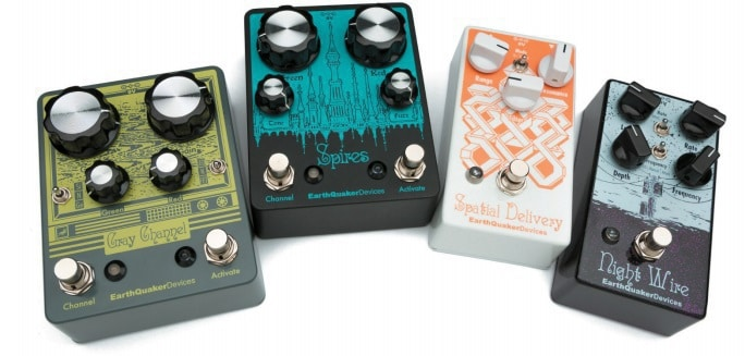Earthquaker Pedals im Test: Gray Channel, Spires, Spatial Delivery, Night Wire