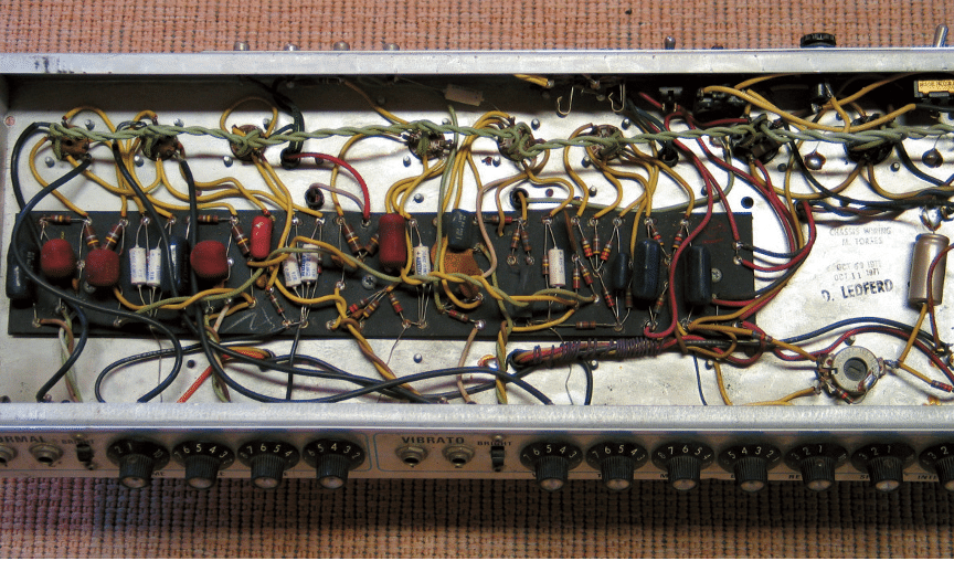 1971 Silverface Fender Twin Reverb