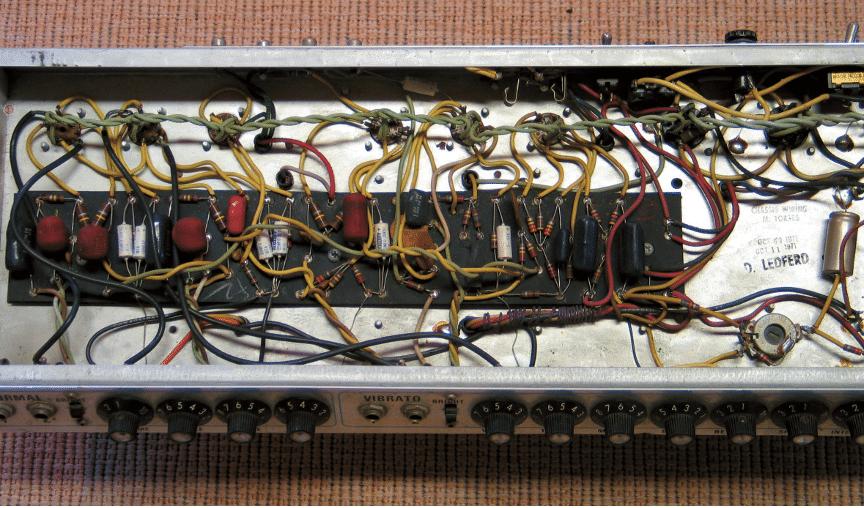 1971 Silverface Fender Twin Reverb