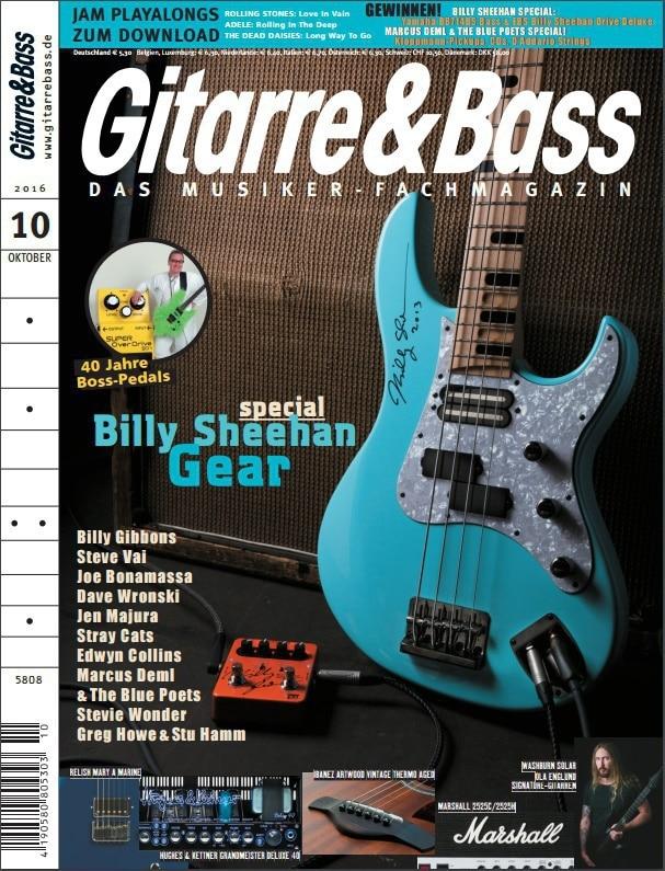 Neue Ausgabe Gitarre & Bass