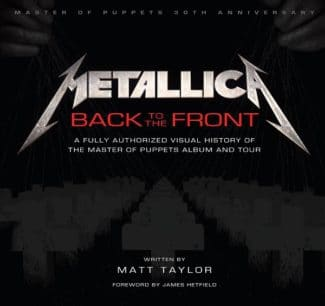 "Metallica-Buch ""Metallica: Back to the Front""."