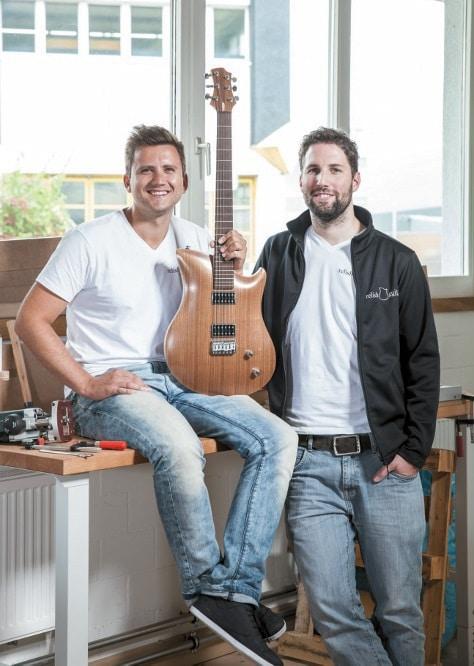 Die Relish Brothers: Silvan Küng (l.) und Pirmin Giger