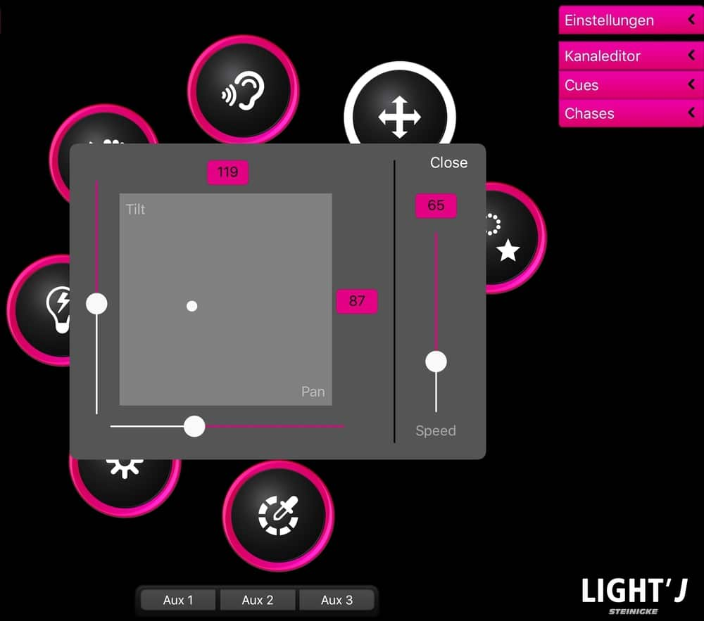 licht steuern per app light j mit gro em update gitarre bass. Black Bedroom Furniture Sets. Home Design Ideas