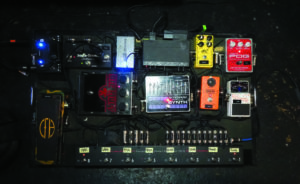 Pedalboard Wolfmother