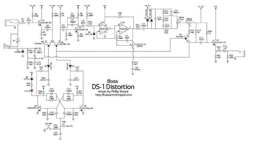 Boss DS-1 Keeley Mod | GITARRE & BASS