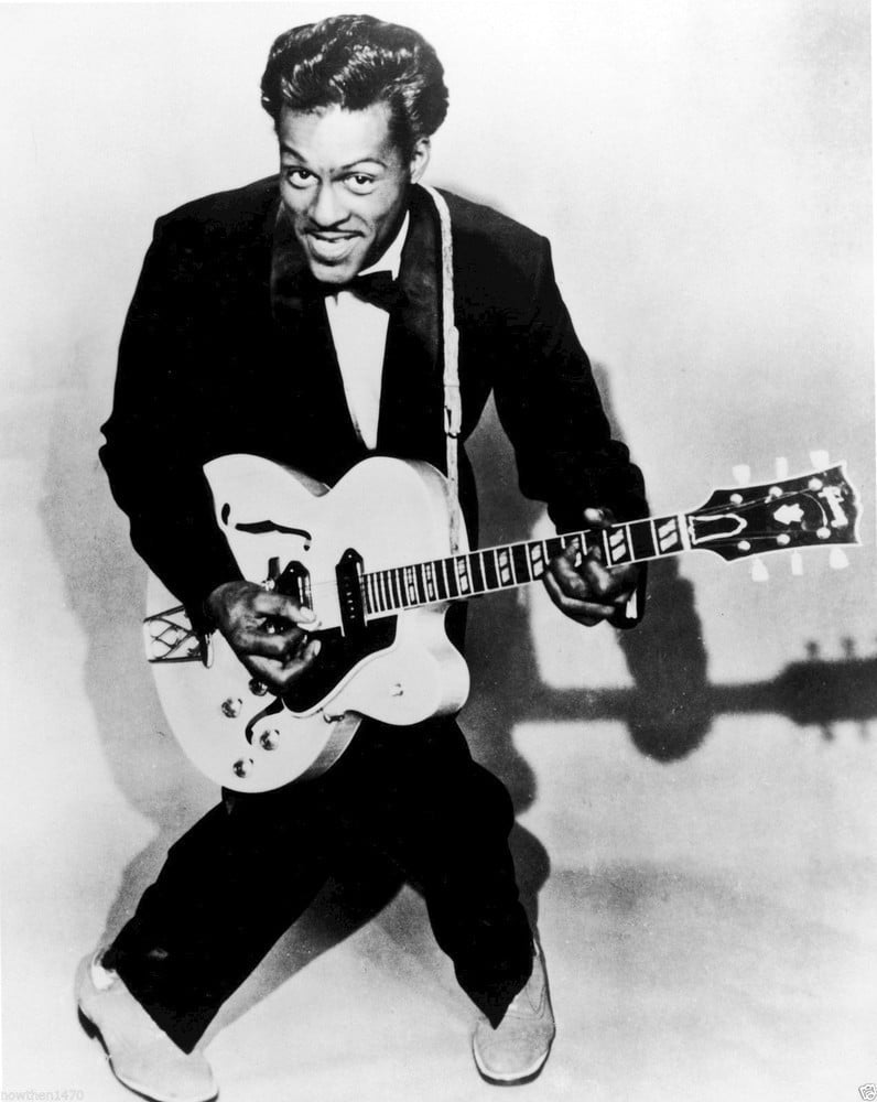 """Charles Edward Anderson """"Chuck"""" Berry"""