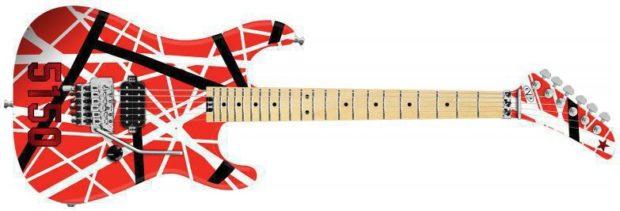 Van Halens Gitarre Floyd Rose