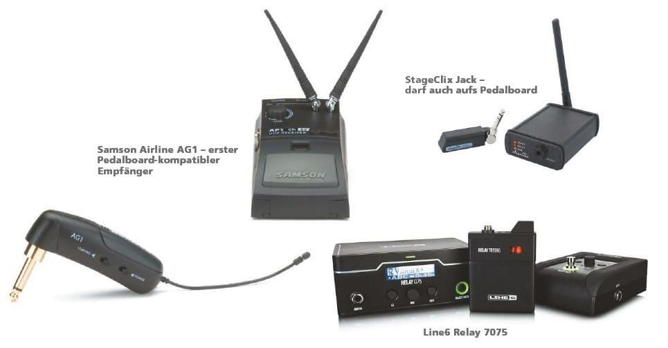 Kabel vs. Wireless   GITARRE & BASS