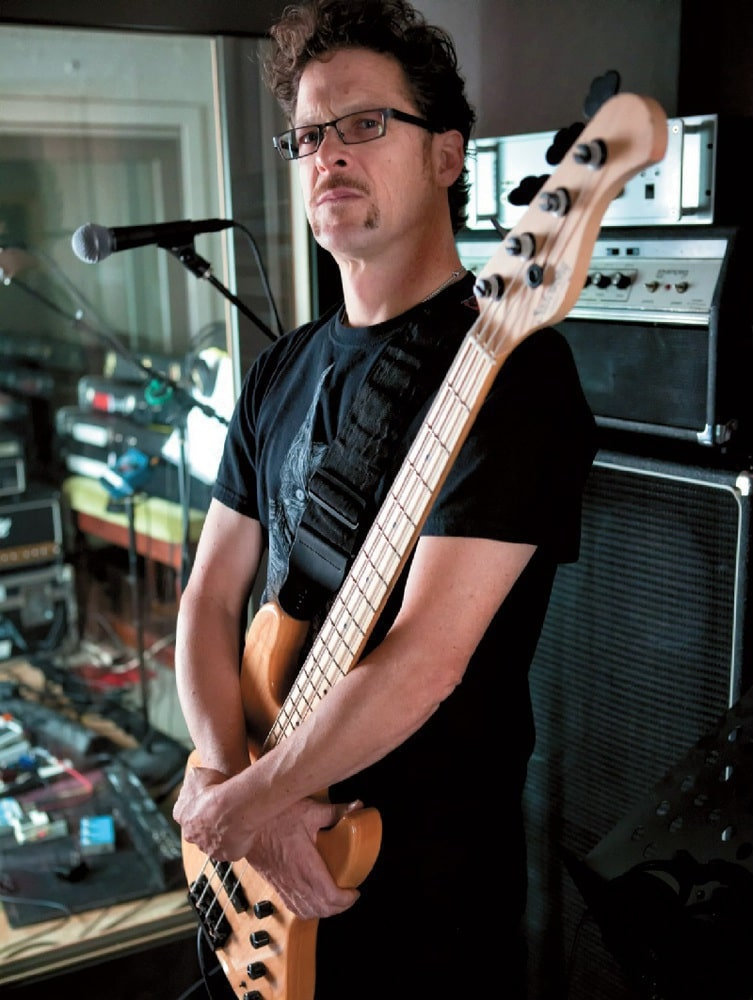 Bassist Jason Newsted