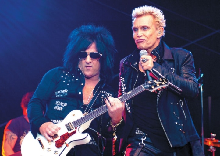 Steve Stevens und Billy Idol