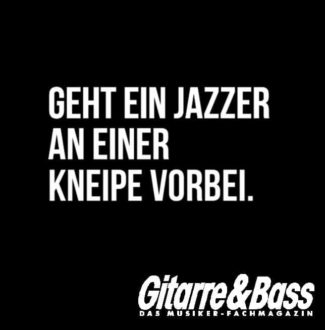 Jazz Musiker Witz