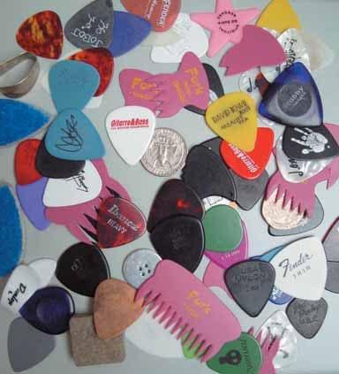 Ausprobieren! Pick-Vielfalt ist Klangvielfalt