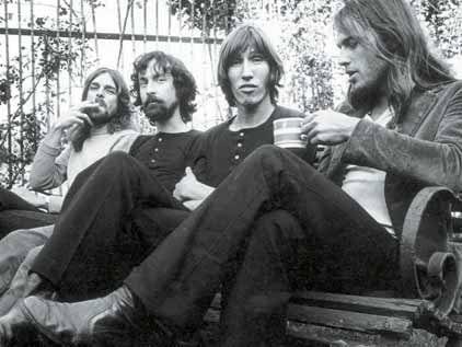 David Gilmour mit Band