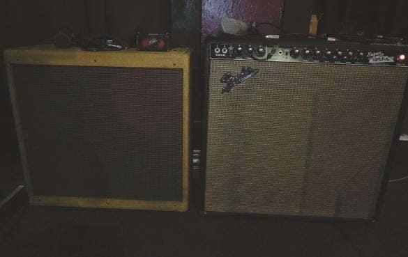 Fender Bassman und Super Reverb