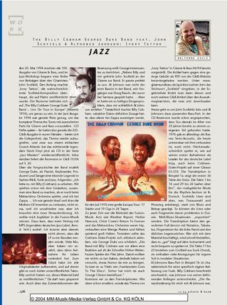 Jazz John Scofield Alphonso Johnson In Der Billy Cobhamgeorge