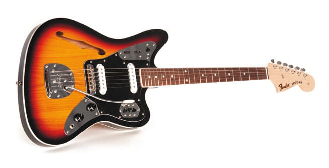fender special edition jaguar thinline, e-gitarre | gitarre & bass