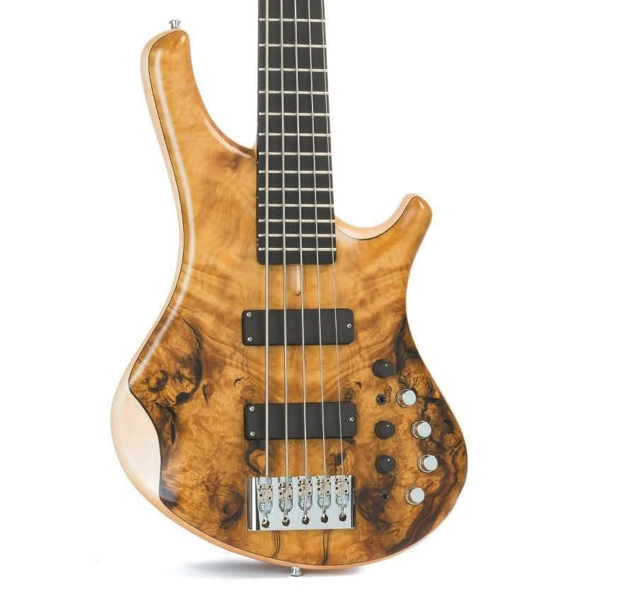 Marleaux Tiuz 5-string, E-Bass im Test | GITARRE & BASS