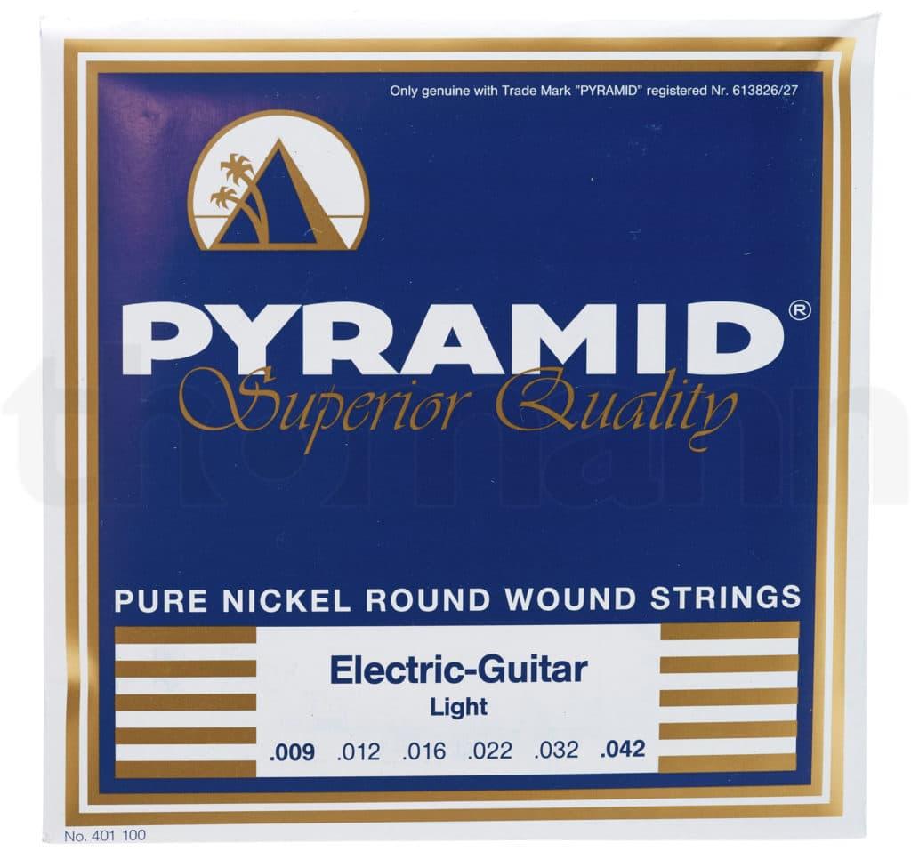 Eine Verpackung der Pyramid Electric-Guitar Saite