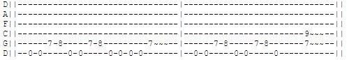 Gitarren Tab