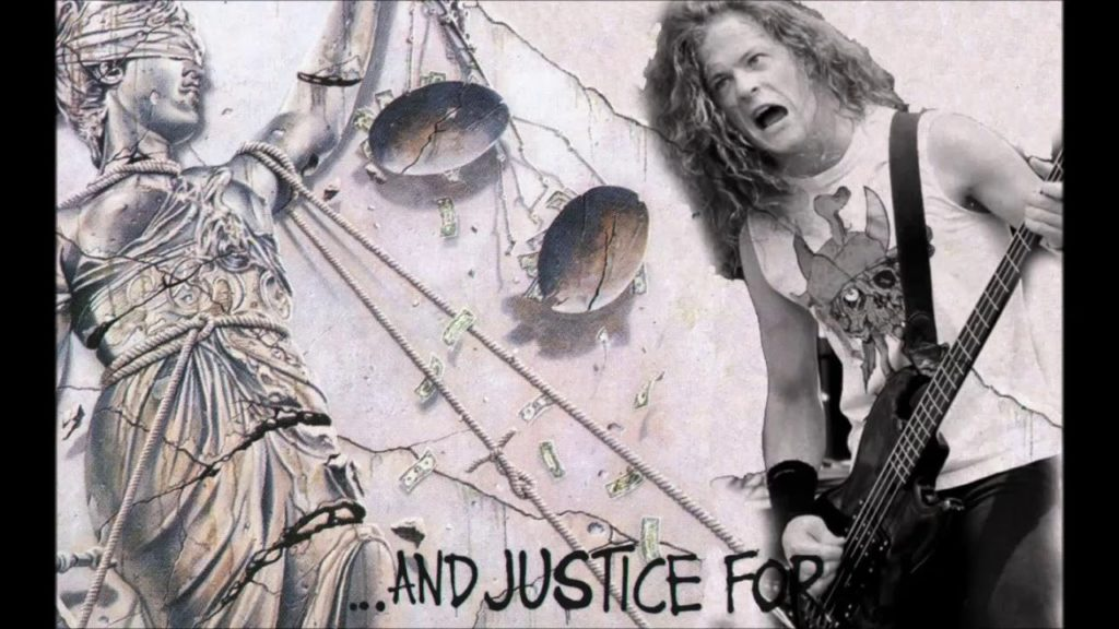 And justice for all metallica