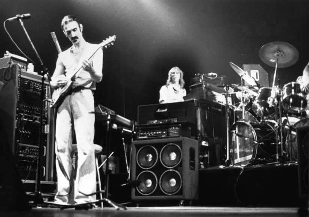 Frank Zappa on Stage