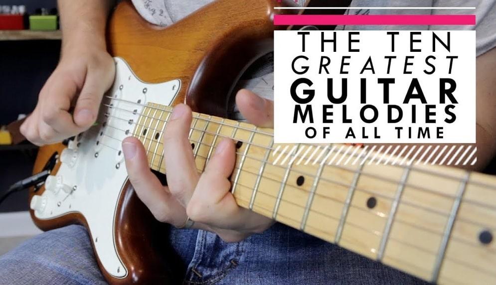 Top-10-Gitarren-Melodien