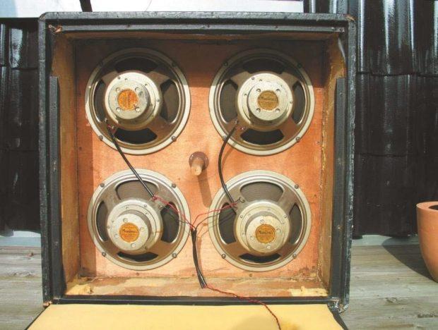 Amp Lautsprecher Marshall 4x12-Box Spanplatte