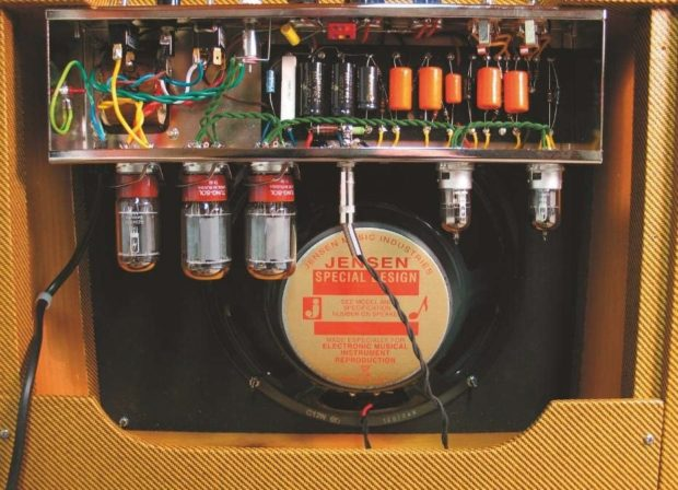 Amp Lautsprecher Fender Solid-Pine-Gehäuse