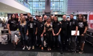 Das Organisationsteam vom Guitar Summit