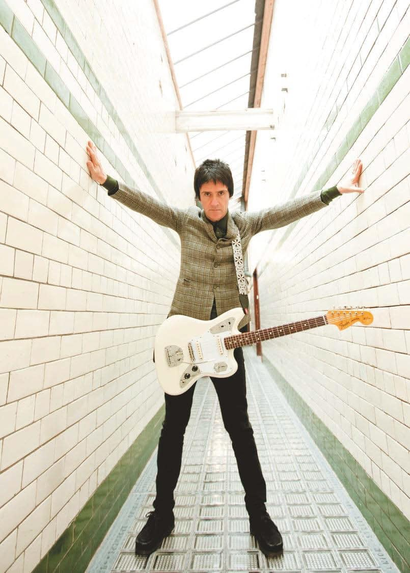 Johnny Marr und Fender Jaguar Signature