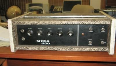 Ein historischer Mesa Bass 450
