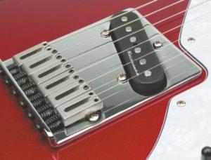 Sattel einer Fender Telecaster