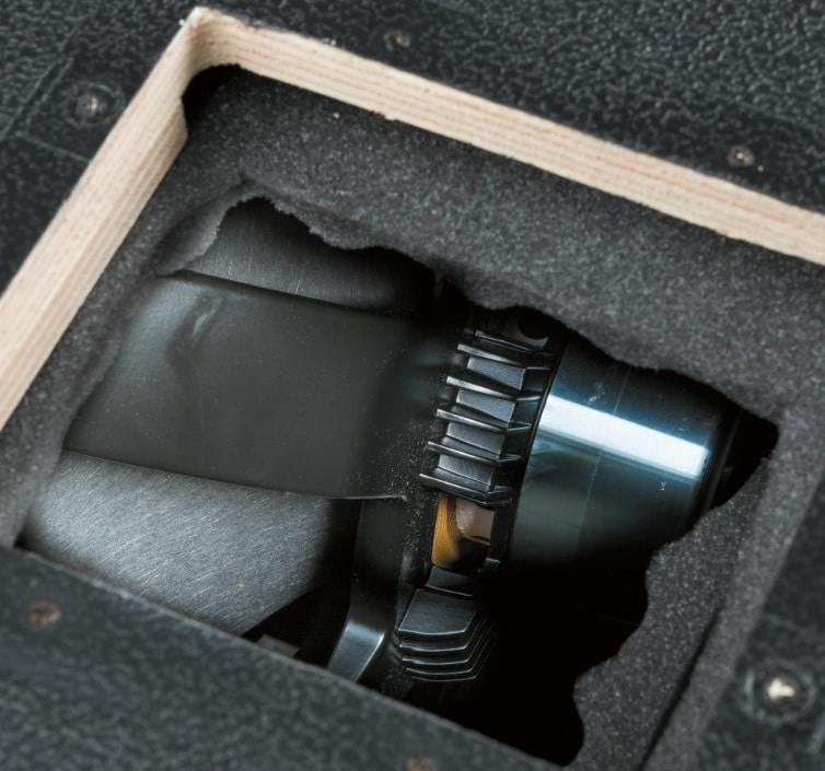 Der Lautsprecher des Hevos Thor 15 Combos
