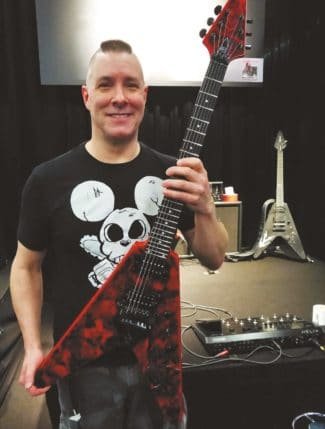 The guitarist of Annihilator