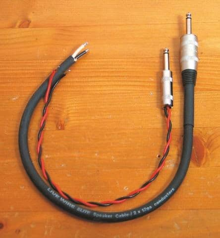 Live-Wire-Elite-Lautsprecherkabel