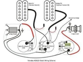 Yamaha AES 620 HB Hollowbody