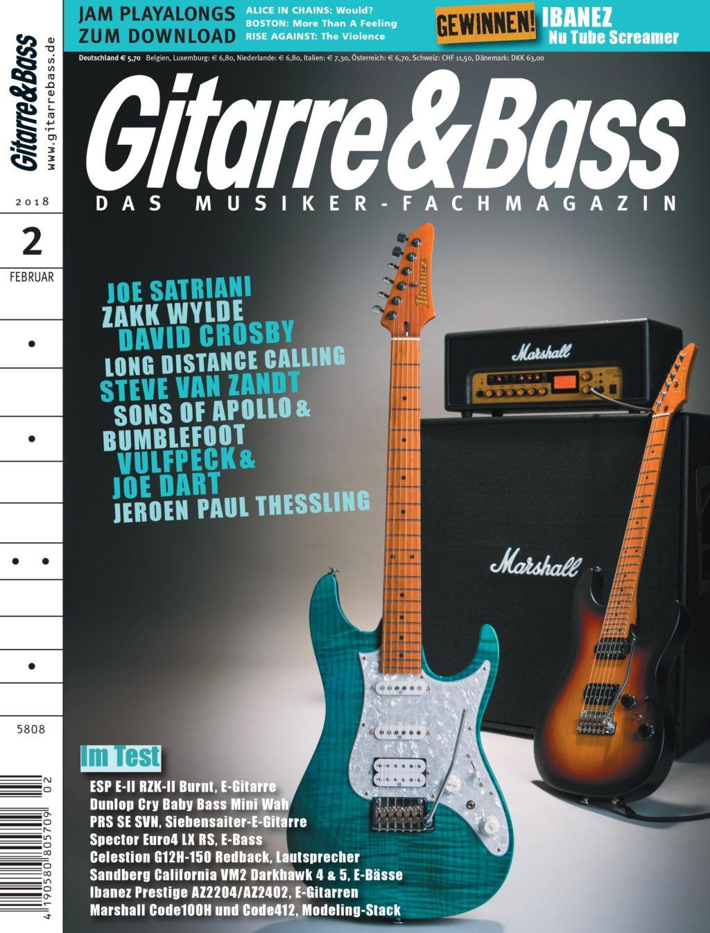Gitarre & Bass Februar 2018 Ausgabe