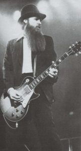 Billy Gibbons young Les Paul