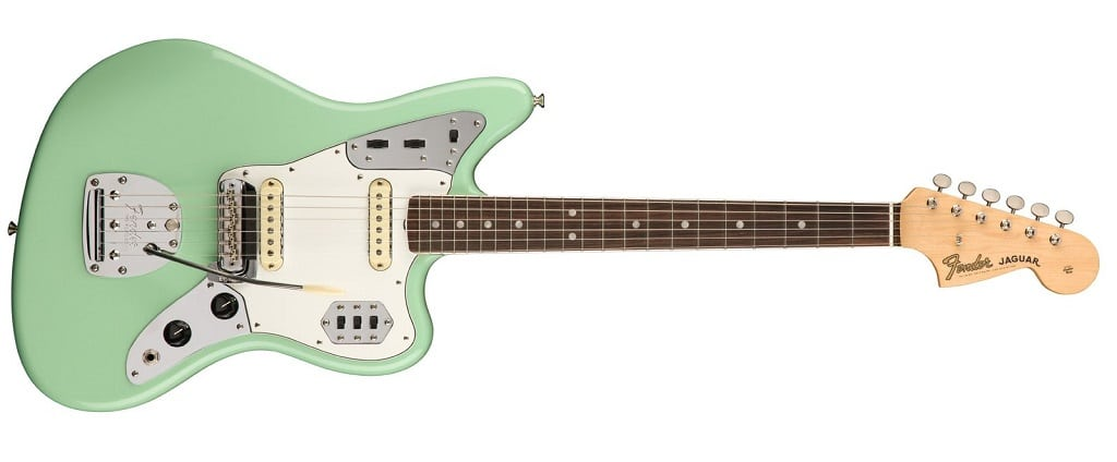 Fender American Original 60's Jaguar Surf Green