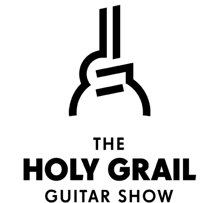 holy grail guitar show logo