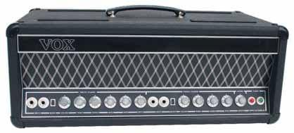 Die Hybrid-Amps der UL-Serie kamen 1967 auf den Markt und wurden auch von den Beatles für Sgt. Pepper eingesetzt. Hier das 15-Watt- Top UL-715.