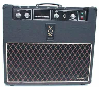 Ein reiner Transistor-Vox: Der Virtuoso