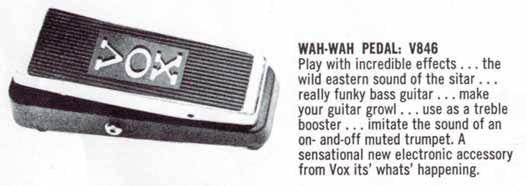 Vox WahWah
