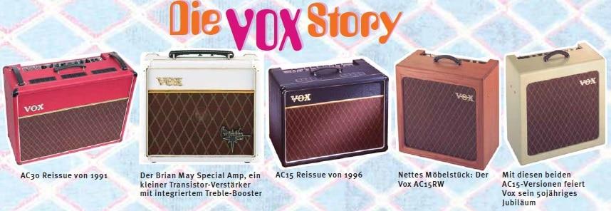 Reissues von Vox